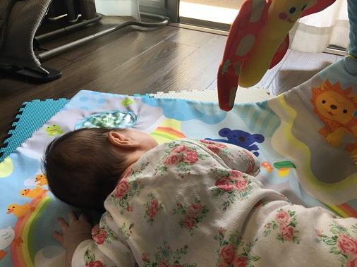 一眼レフ赤ちゃん撮影2