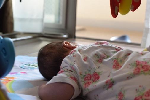 一眼レフ赤ちゃん撮影3