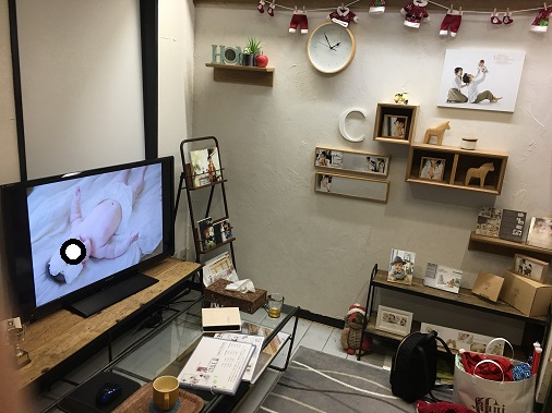 ライフスタジオ控え室