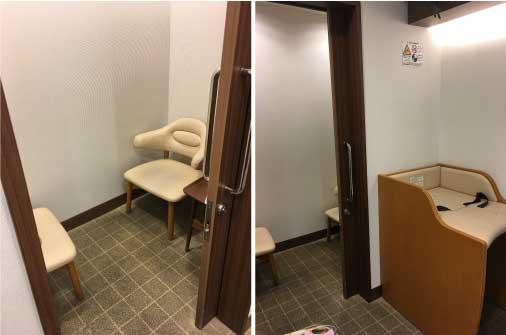 マルイ授乳室
