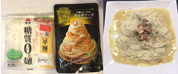 糖質制限麺
